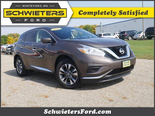 2017 Nissan Murano for sale at Schwieters Ford of Montevideo in Montevideo MN