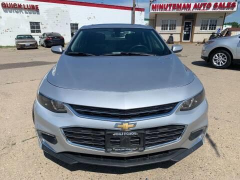 2017 Chevrolet Malibu for sale at Minuteman Auto Sales in Saint Paul MN