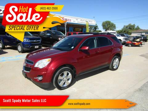 2012 Chevrolet Equinox for sale at Scott Spady Motor Sales LLC in Hastings NE