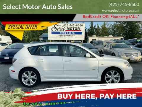 2009 Mazda MAZDA3 for sale at Select Motor Auto Sales in Lynnwood WA