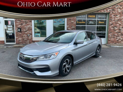 2016 Honda Accord for sale at Ohio Car Mart in Elyria OH