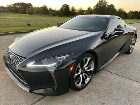 2021 Lexus LC 500 for sale at Legacy Motor Sales in Norcross GA