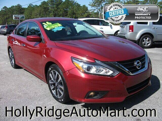 2016 Nissan Altima for sale at Holly Ridge Auto Mart in Holly Ridge NC