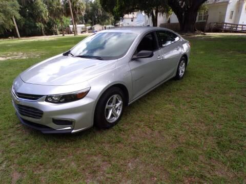 2017 Chevrolet Malibu for sale at LANCASTER'S AUTO SALES INC in Fruitland Park FL