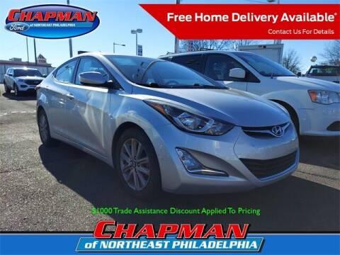 2015 Hyundai Elantra for sale at CHAPMAN FORD NORTHEAST PHILADELPHIA in Philadelphia PA