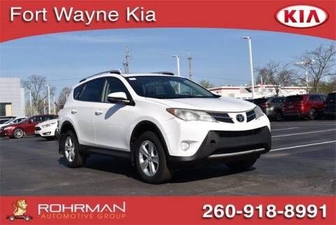 2014 Toyota RAV4 for sale at BOB ROHRMAN FORT WAYNE TOYOTA in Fort Wayne IN