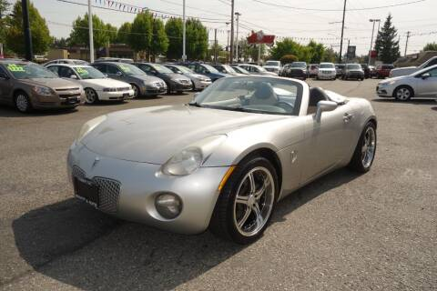 2007 Pontiac Solstice for sale at Leavitt Auto Sales and Used Car City in Everett WA