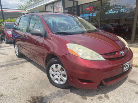 2006 Toyota Sienna for sale at ECAUTOCLUB LLC in Kent OH