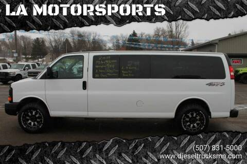 2014 Chevrolet Express Passenger for sale at LA MOTORSPORTS in Windom MN