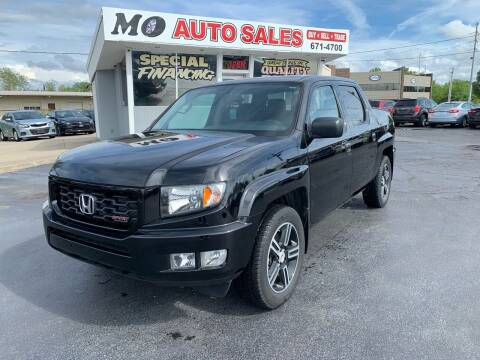 2014 Honda Ridgeline for sale at Mo Auto Sales in Fairfield OH