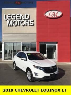 2019 Chevrolet Equinox for sale at Legend Motors of Ferndale in Ferndale MI