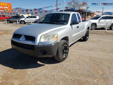 2009 Mitsubishi Raider for sale at Bickham Used Cars in Alamogordo NM