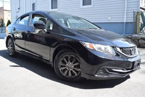 2014 Honda Civic for sale at VNC Inc in Paterson NJ