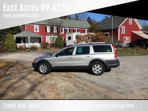 2006 Volvo XC70 for sale at East Acres RV 4279 in Mendon MA