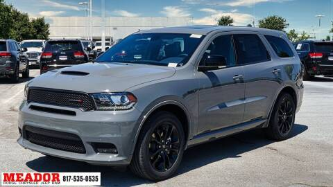 2020 Dodge Durango for sale at Meador Dodge Chrysler Jeep RAM in Fort Worth TX