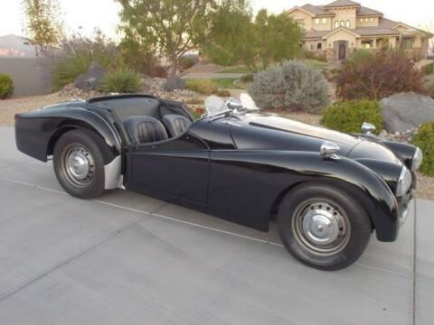 1958 Triumph TR3 for sale at Classic Car Deals in Cadillac MI