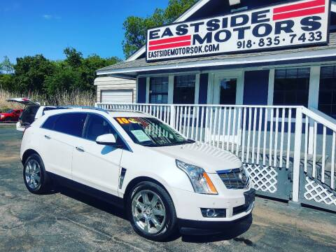2010 Cadillac SRX for sale at EASTSIDE MOTORS in Tulsa OK