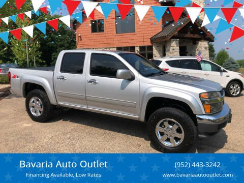 2012 Chevrolet Colorado for sale at Bavaria Auto Outlet in Victoria MN