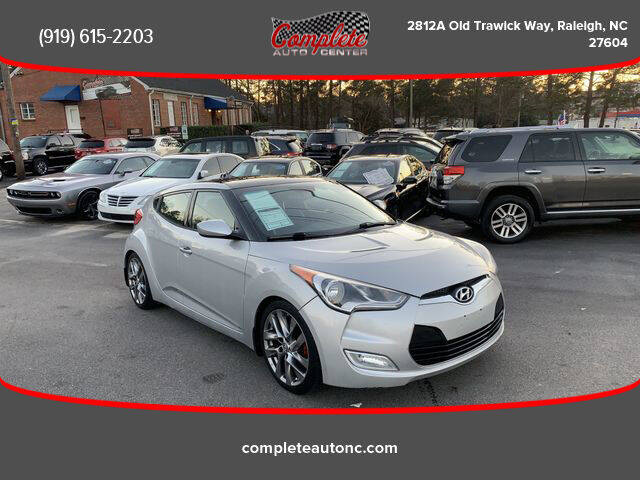 2013 Hyundai Veloster for sale at Complete Auto Center , Inc in Raleigh NC