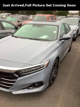 2021 Honda Accord Hybrid for sale at Royal Moore Custom Finance in Hillsboro OR