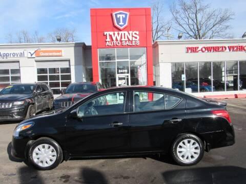 2018 Nissan Versa for sale at Twins Auto Sales Inc in Detroit MI