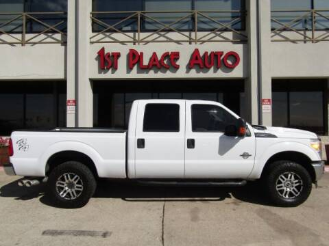 2011 Ford F-250 Super Duty for sale at First Place Auto Ctr Inc in Watauga TX