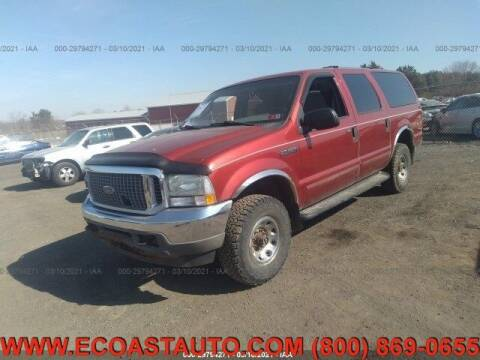 2004 Ford Excursion for sale at East Coast Auto Source Inc. in Bedford VA
