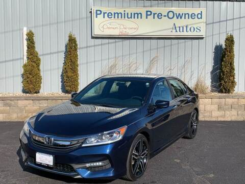 2016 Honda Accord for sale at PREMIUM PRE-OWNED AUTOS in East Peoria IL