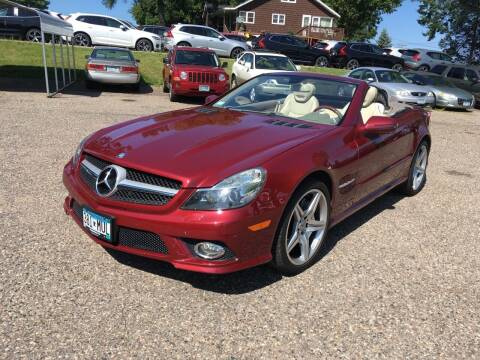 2009 Mercedes-Benz SL-Class for sale at Sparkle Auto Sales in Maplewood MN