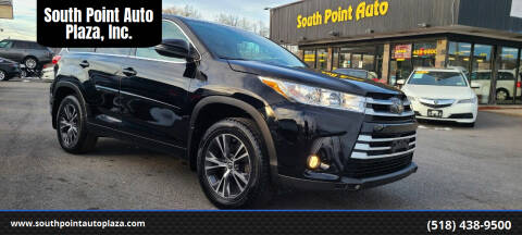 2018 Toyota Highlander for sale at South Point Auto Plaza, Inc. in Albany NY
