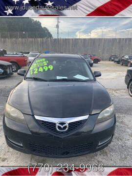 2009 Mazda MAZDA3 for sale at J D USED AUTO SALES INC in Doraville GA