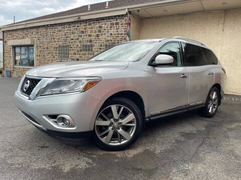 2014 Nissan Pathfinder for sale at Keystone Auto Center LLC in Allentown PA