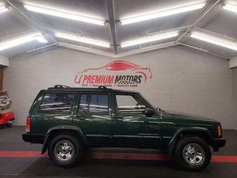 2000 Jeep Cherokee for sale at Premium Motors in Villa Park IL