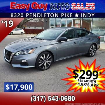 2019 Nissan Altima for sale at Easy Guy Auto Sales in Indianapolis IN