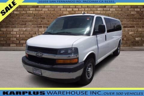 2017 Chevrolet Express Passenger for sale at Karplus Warehouse in Pacoima CA