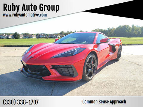 2020 Chevrolet Corvette for sale at Ruby Auto Group in Hudson OH