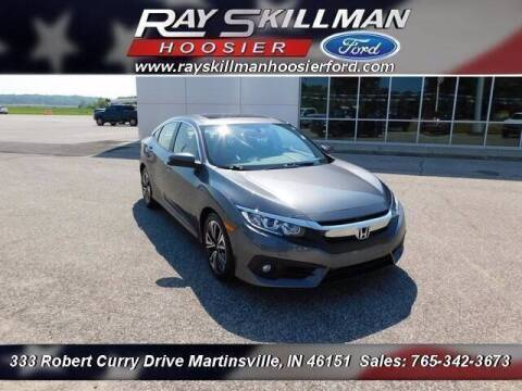 2018 Honda Civic for sale at Ray Skillman Hoosier Ford in Martinsville IN