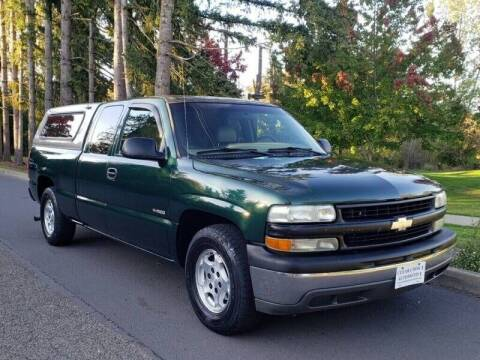 2002 Chevrolet Silverado 1500 for sale at CLEAR CHOICE AUTOMOTIVE in Milwaukie OR