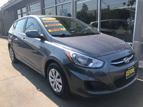 2017 Hyundai Accent for sale at Devine Auto Sales in Modesto CA