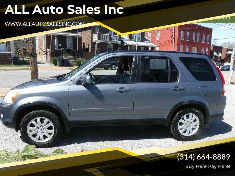 2005 Honda CR-V for sale at ALL Auto Sales Inc in Saint Louis MO
