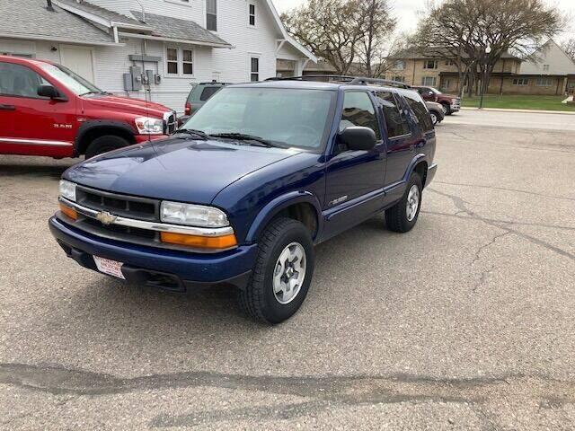 2005 Chevrolet Blazer for sale at Affordable Motors in Jamestown ND