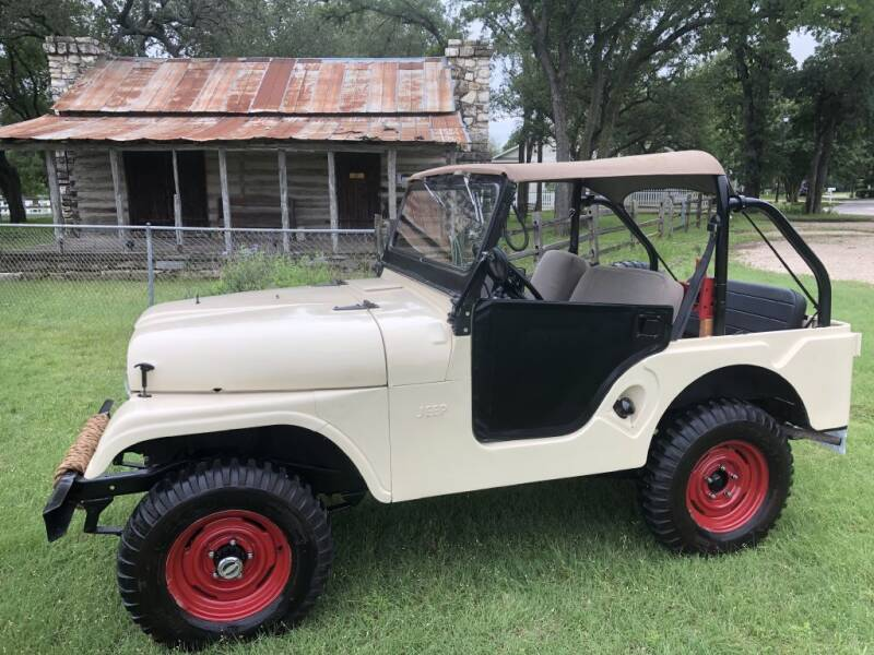 1960 Willys CJ-5 for sale at Village Motors Of Salado in Salado TX