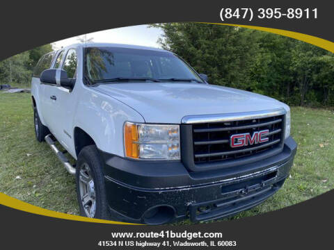 2011 GMC Sierra 1500 for sale at Route 41 Budget Auto in Wadsworth IL