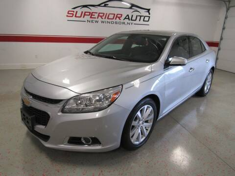 2014 Chevrolet Malibu for sale at Superior Auto Sales in New Windsor NY
