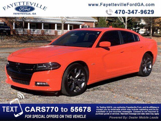 2018 Dodge Charger for sale at FAYETTEVILLEFORDFLEETSALES.COM in Fayetteville GA