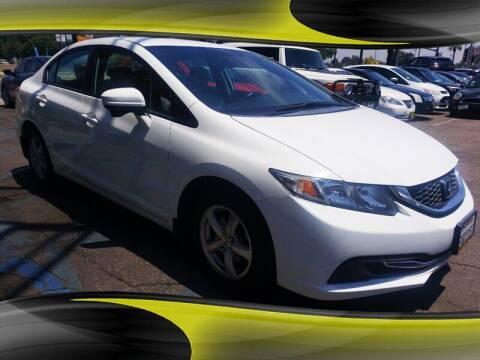 2015 Honda Civic for sale at Winnetka Auto Mall in Winnetka CA