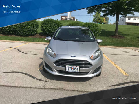 2015 Ford Fiesta for sale at Auto Nova in St Louis MO