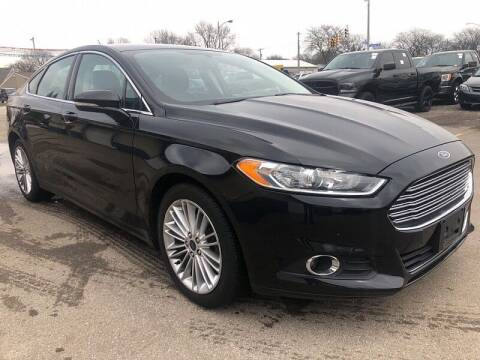 2016 Ford Fusion for sale at CItywide Auto Credit in Oregon OH