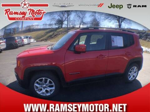 2018 Jeep Renegade for sale at RAMSEY MOTOR CO in Harrison AR
