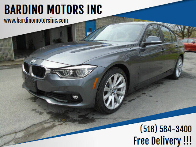 2018 BMW 3 Series for sale at BARDINO MOTORS INC in Saratoga Springs NY